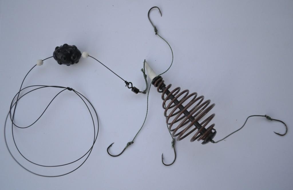 Как сделать пружину для кормушки на рыбалку своими руками