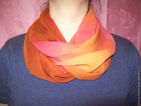 Как красиво завязать шарф на